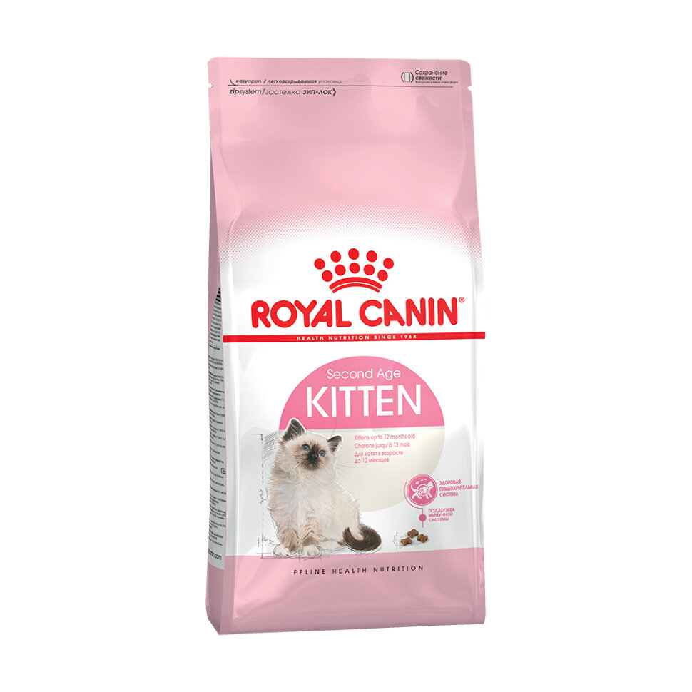 Royal Canin Kitten фото 1 — ZVERAM.RU