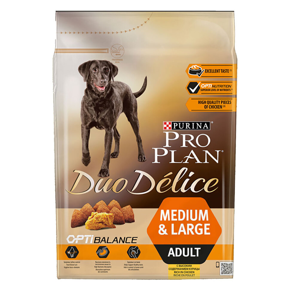 Pro Plan Duo Delice Adult Chicken фото 1 — ZVERAM.RU