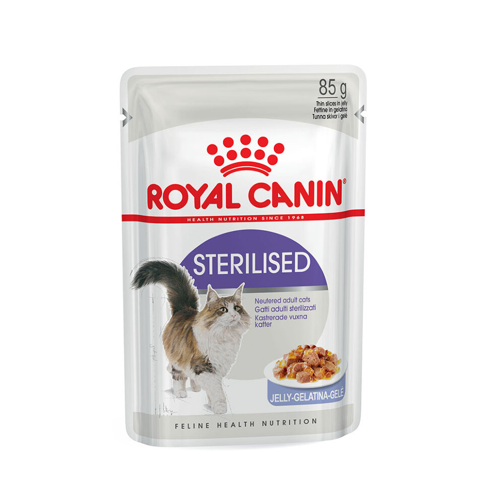 Royal Canin Sterilised Gelee фото 1 — ZVERAM.RU