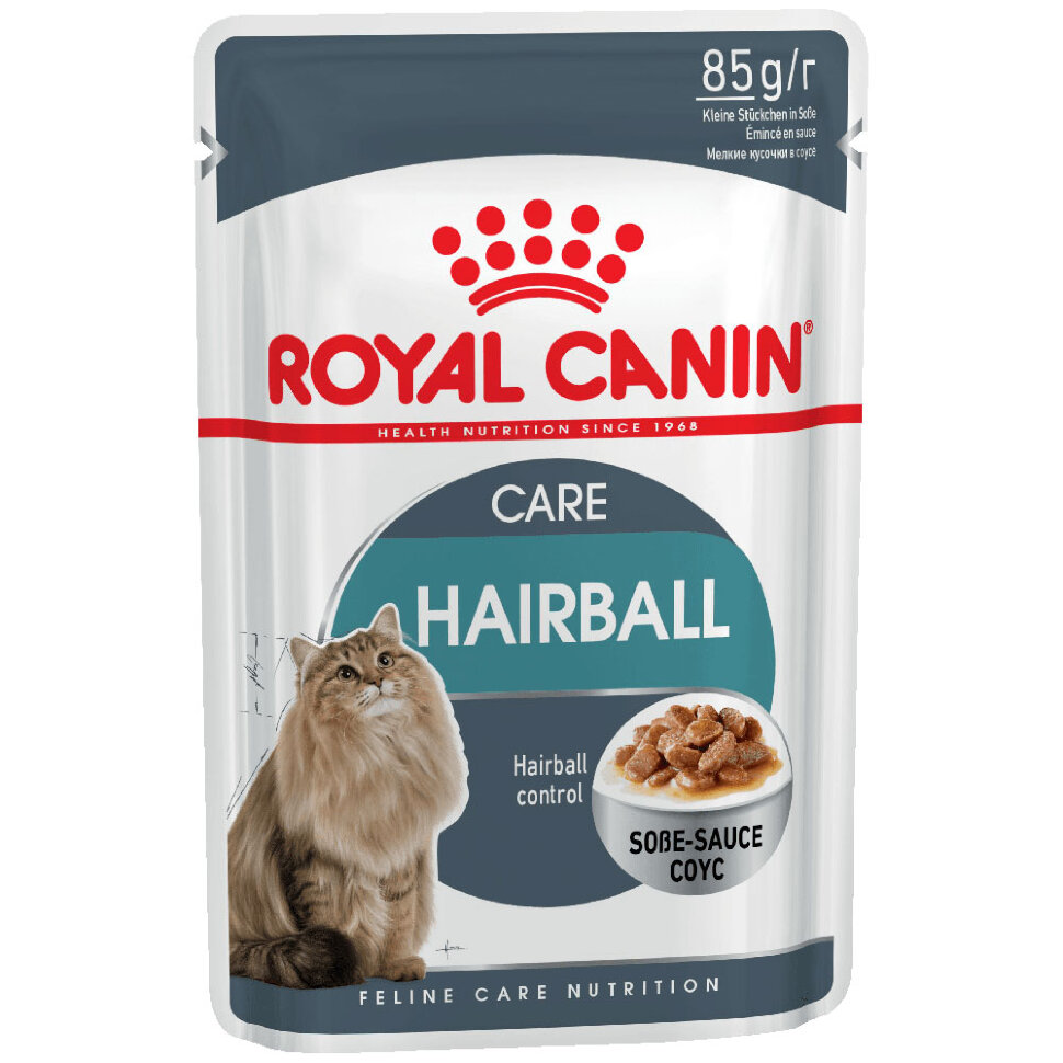 Royal Canin Hairball Sauce фото 1 — ZVERAM.RU