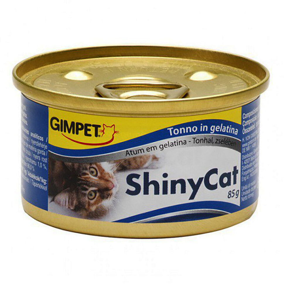 Gimpet Shiny Cat Tuna фото 1 — ZVERAM.RU