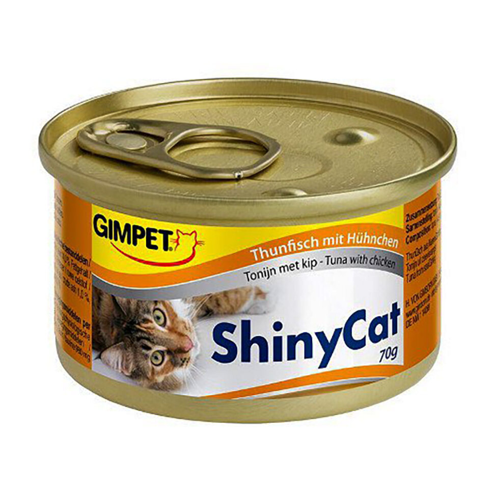 Gimpet Shiny Cat Tuna & Chicken фото 1 — ZVERAM.RU